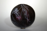 deep color glass orb